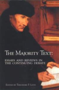 Book Cover: The Majority Text:  Essays and Reviews in the Continuing Debate