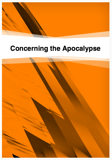 Book Cover: Concerning the Text of the Apocalypse