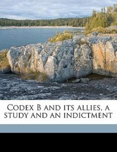 Book Cover: Codex B & Its Allies Vol 1 & 2