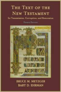 Book Cover: The Text of the New Testament