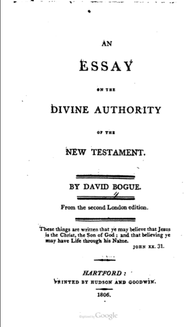 Book Cover: Divine Authority of the New Testament
