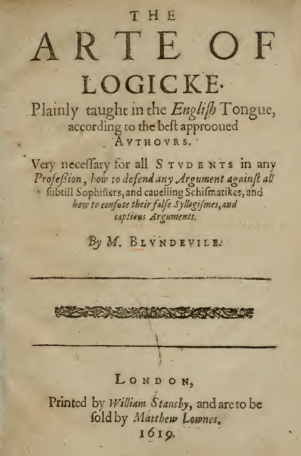 Book Cover: The Art of Logic