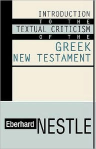 Book Cover: Introduction to the Textual Criticism of the GNT