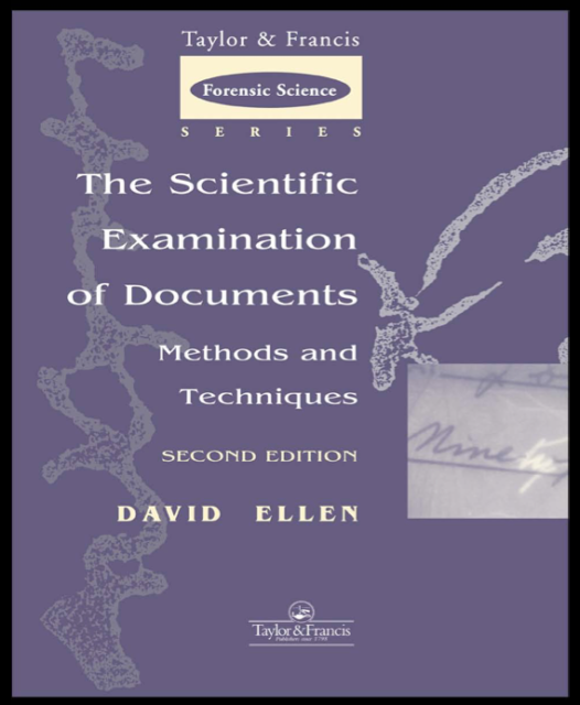Book Cover: The Scientific Examination of Documents