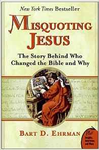 Book Cover: Misquoting Jesus