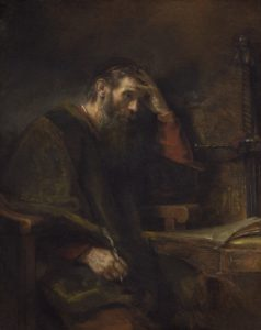 The Apostle Paul by Rembrandt (1657)