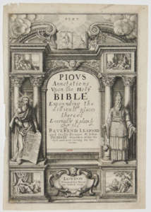 Book Cover: Pious Annotations Upon the Holy Bible