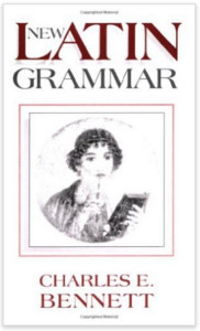 Book Cover: New Latin Grammar