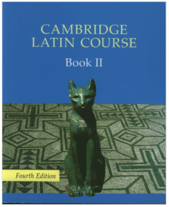 Book Cover: Cambridge Latin Course Book 2