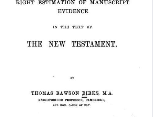 Essay on the Right Estimation of MSS Evidence 1.0