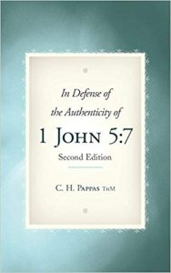 Book Cover: In Defense of the Authenticity of 1 John 5:7