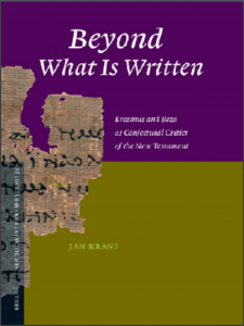 Book Cover: Beyond What is Written