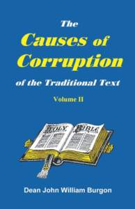 Book Cover: The Causes of Corruption of the Traditional Text