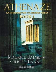 Book Cover: Athenaze Ancient Greek Book 1