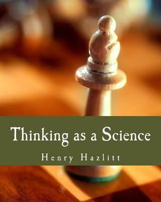 Book Cover: Thinking As Science