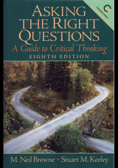 Book Cover: Asking the Right Questions 8th ed.
