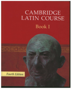 Book Cover: Cambridge Latin Course Book 1