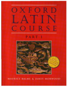 Book Cover: Oxford Latin Course Part 1