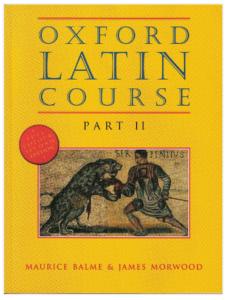 Book Cover: Oxford Latin Course Part 2