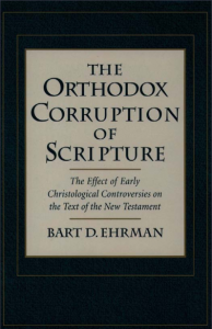 Book Cover: The Orthodox Corruption of Scripture
