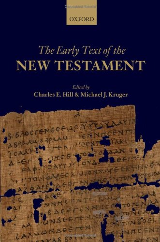 Book Cover: The Early Text of the New Testament