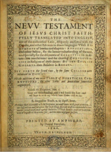Book Cover: The New Testament of Jesus Christ Faithfully Translated into English