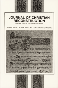 Book Cover: JCR: Vol. 12, No. 02