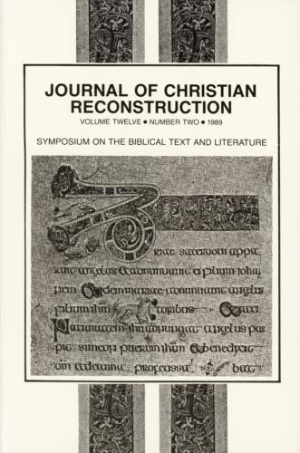 Book Cover: JCR: Vol. 12, No. 02