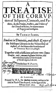 Book Cover: A Treatise of the Corruption of Scripture by Rome