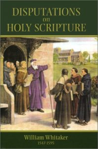 Book Cover: Disputations on Holy Scripture