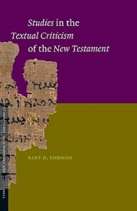 Book Cover: Studies in the Textual Criticism of the New Testament