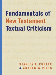 Book Cover: Fundamentals of New Testament Textual Criticism
