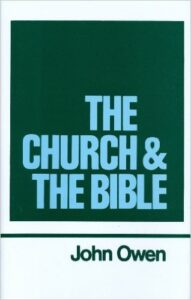 Book Cover: The Church & The Bible