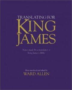 Book Cover: Translating for King James